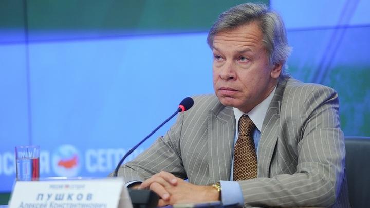 Статья года: Сенатор Пушков не ждет в ближайшее время конкурентов публикации Суркова