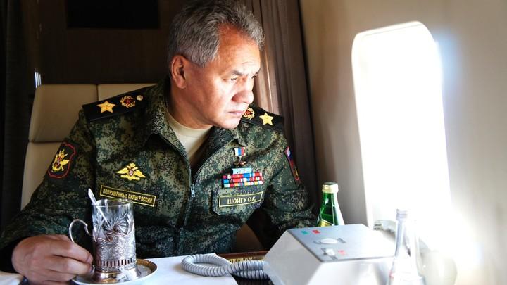 Шойгу рассказал о невидимом выводе войск США с территории Сирии