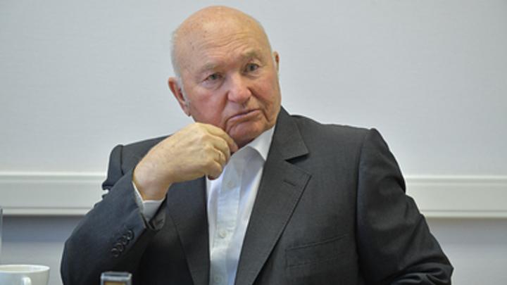 Вещь полезная: поддержав идею объединения Москвы и области, Лужков озаботился лишь будущим местной власти