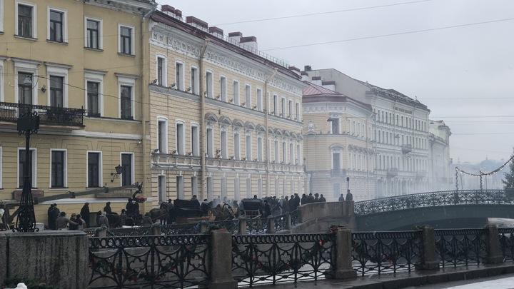 Похоже на кадр из какой-нибудь игры про 3019 год: Один снимок отправил жителей Петербурга в будущее