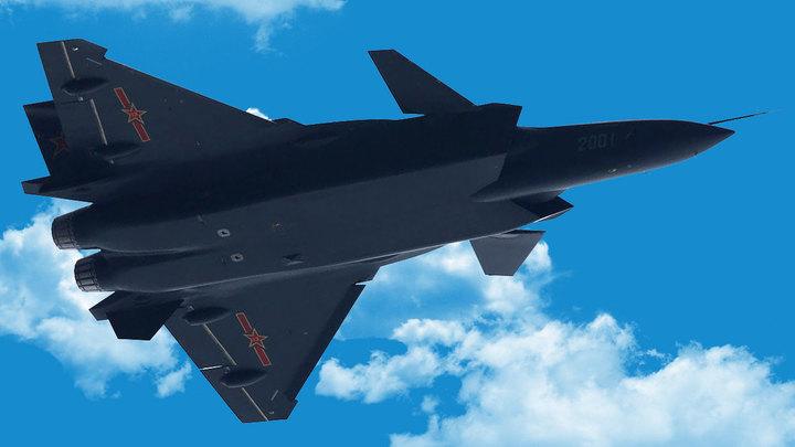 В Китае полетел истребитель пятого поколения - но на русском двигателе