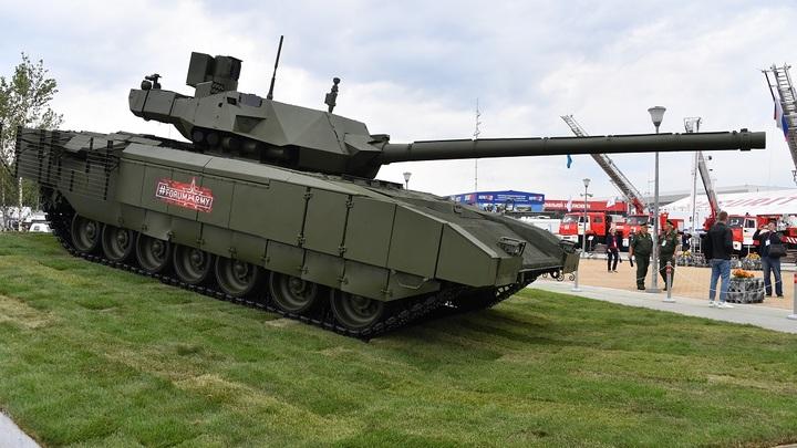 Шаровары вместо туалета: Санузел в российском танке Т-14 Армата вызвал споры в Сети