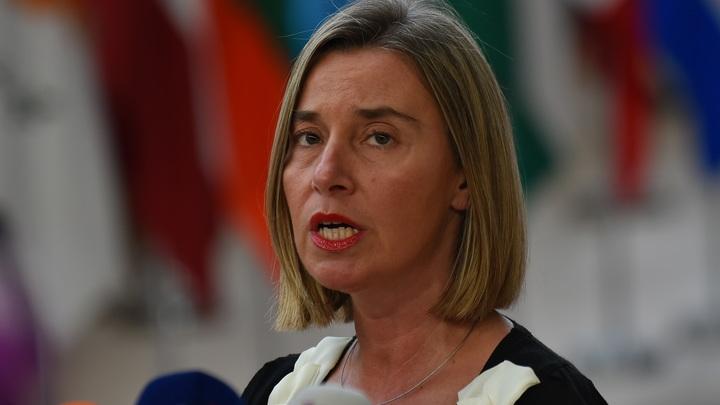 Могерини пообещала хранить непризнание Европой аннексии украинского Крыма