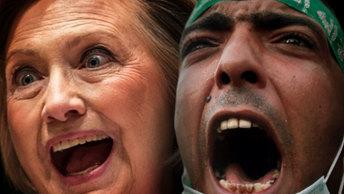 Почтовый скандал ФБР: Клинтон выбрасывают на помойку
