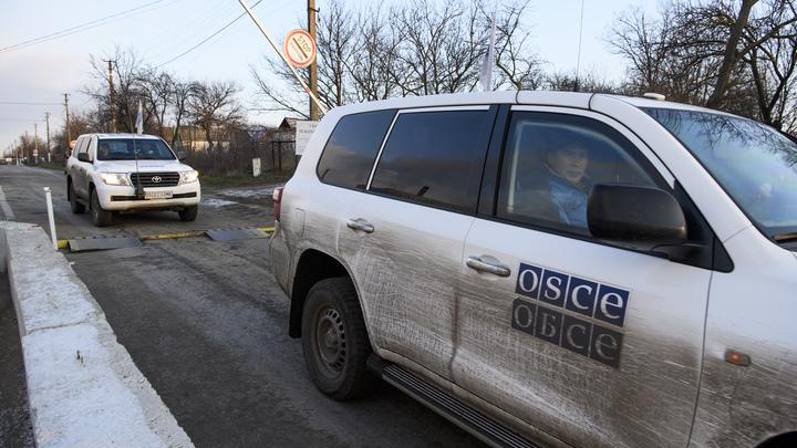 ВСУ собирались подорвать представителей ОБСЕ
