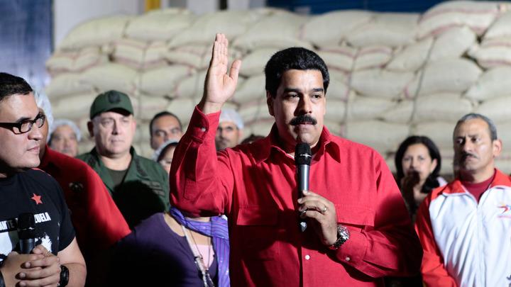 Мадуро потребовал у Трампа посмотреть в глаза венесуэльцев