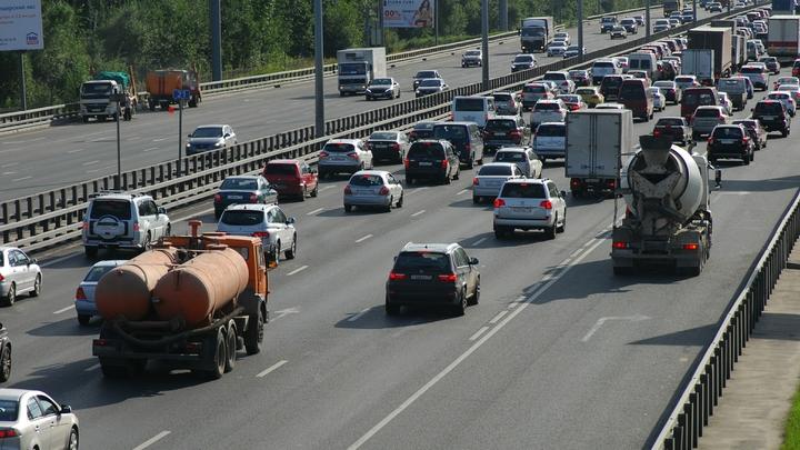 Платную трассу Москва - Санкт-Петербург могут открыть в начале осени