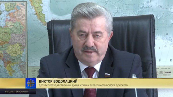 Рассчитываем на поддержку всех казаков: Виктор Водолацкий вошел в президиум ВРНС