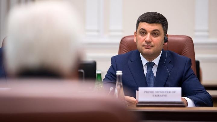 Премьер Украины Гройсман стал русскоязычным после вопроса об обмене Вышинского