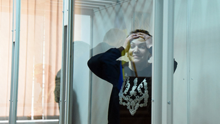 Надежда вернулась: Общественники показали, как Савченко пришла на работу в Раду
