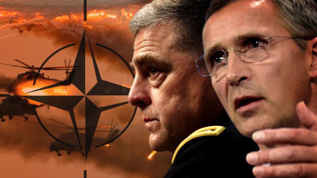 НАТО объявляет войну России