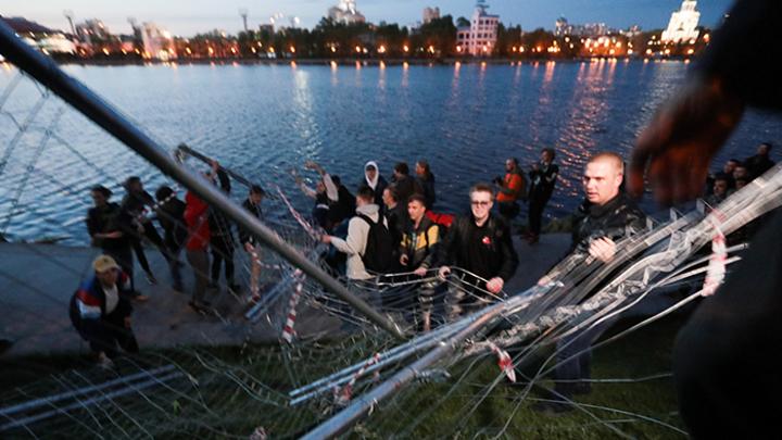 В Екатеринбурге разверзлись врата ада. Но это не страшно