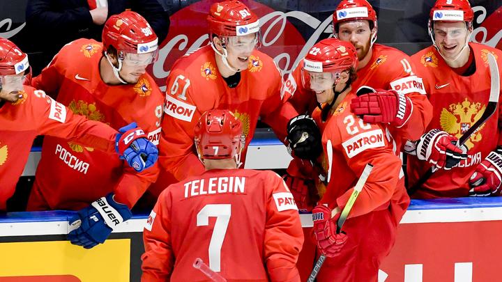 10 безответных шайб: Сборная России по хоккею одержала крупнейшую победу в своей истории