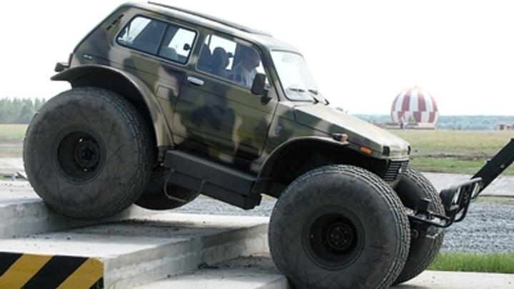 Русскую Ниву превратили в убийцу суперкаров - СМИ