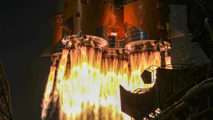 Союз взлетел наэлектризованно: В ракету-носитель попала молния