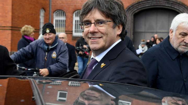 Испанских депутатов не пускают в Европарламент из-за сторонников независимости Каталонии