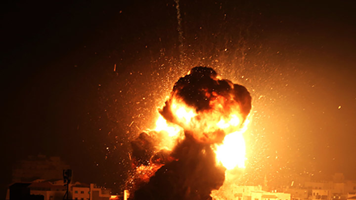 На базе российские военные: В Сирии прогремел взрыв на авиабазе Т-4  - СМИ