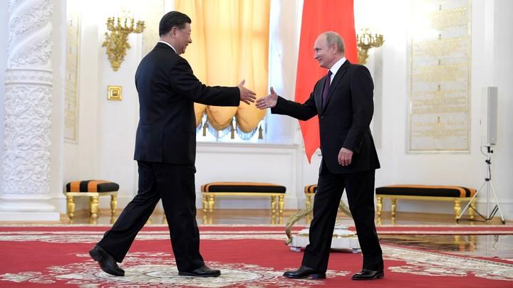 Панды, новые горизонты и торговая война: Путин принял в Кремле Си Цзиньпина