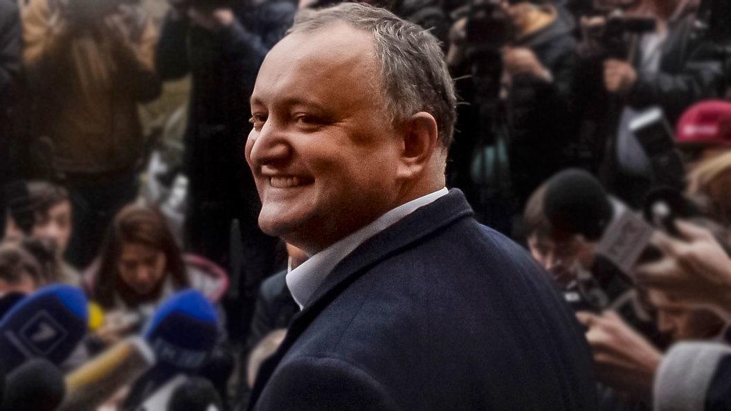 Молдавский Трамп победил свою Клинтон