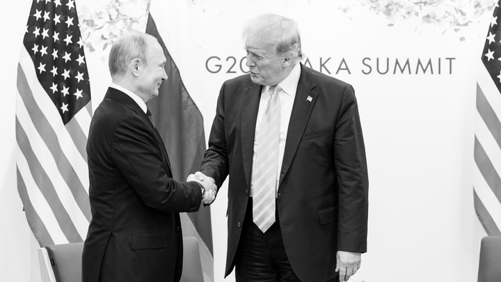Немецкие СМИ прошли мимо Путина и Трампа
