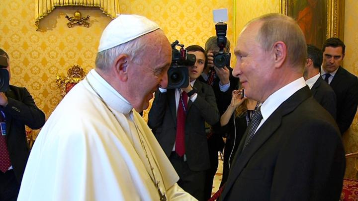 Папа не приедет: Итоги и смыслы ватиканского визита Владимира Путина