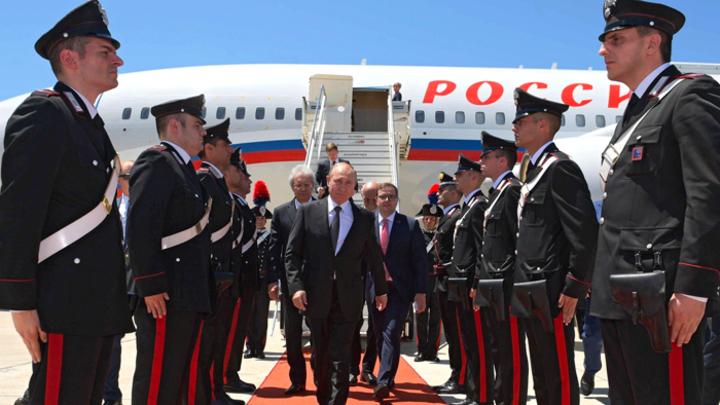«Они даже улицы подмели»: Путин покорил Рим