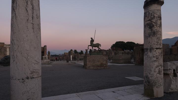 На вилле в Помпее, погибшей от ярости Везувия, археологи нашли сундучок волшебника