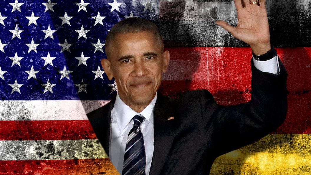 Обама передает Меркель дела в Берлине