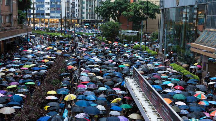 Очередная антиправительственная акция в Гонконге собрала более 1,5 миллиона человек
