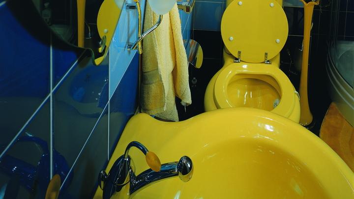И тот, наверное, для директора: В орловской школе торжественно открыли туалет