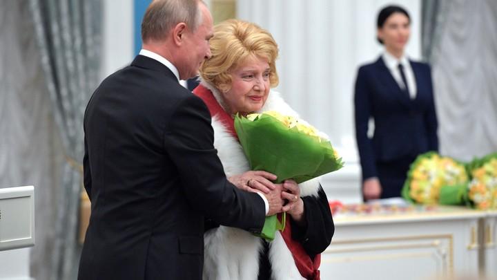 А где же Пугачёва?: Примадонне не досталось награды, а Доронина в Кремле пошепталась с Путиным