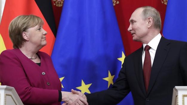 Переговоры Владимира Путина и Ангелы Меркель: Обнадёживающая реальность