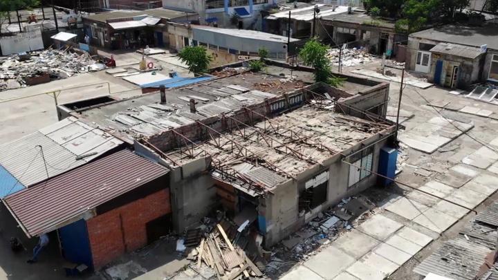 В центре Краснодара заканчивают снос «скобяных рядов»