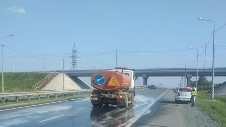 В Челябинской области из-за жары перекроют федеральные дороги