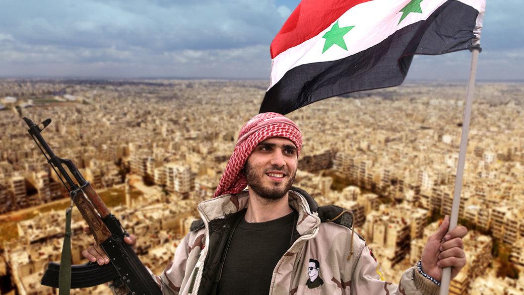 Рассвет победы в Алеппо