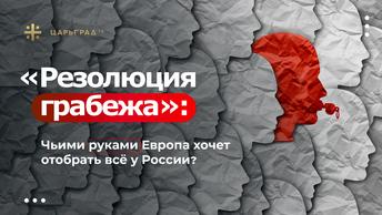 Резолюция грабежа: Чьими руками Европа хочет отобрать всё у России?