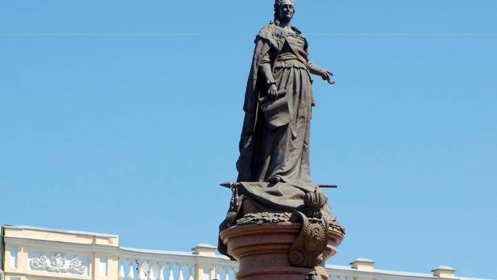 Русским в Одессе решили отомстить сносом памятника Екатерине II