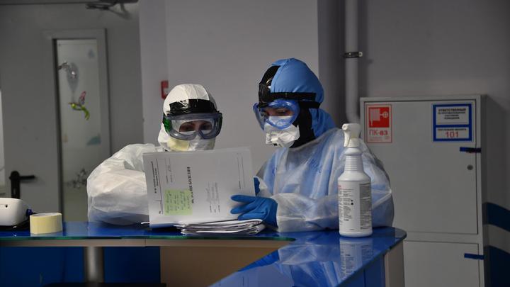 В Минздраве НСО объяснили размещение пациентов в коридорах ковидного отделения горбольницы №1