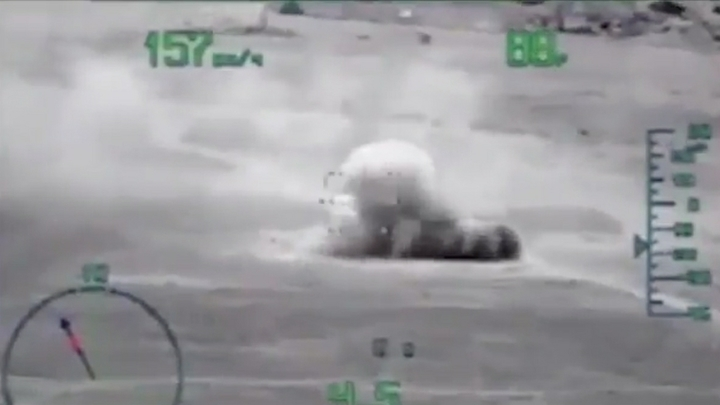 ВКС России ударили по боевикам в Бенине. От их позиций осталась только пыль