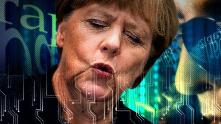 WikiLeaks копает под Меркель