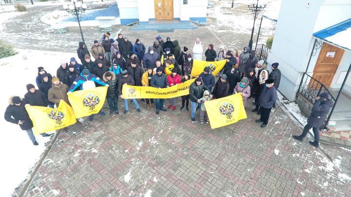 Несмотря на мороз, жители Красноярска поразили массовостью