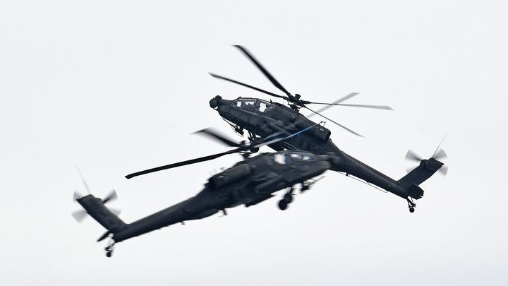 Британский вертолёт расстрелял своих. Случившееся списали на ошибку - Soha