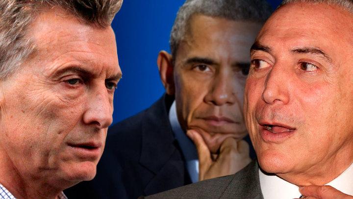 Эффект Трампа ударит по друзьям Обамы в Бразилии и Аргентине