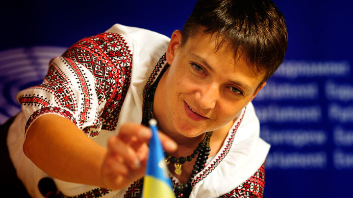 Надежда Савченко: от героя Украины до агента Кремля