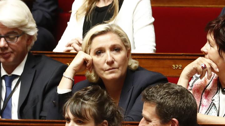 Прокуратура по финансовым преступлениям вызвала Марин Ле Пен на допрос