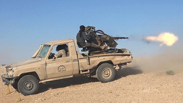 Сирия: Самоутилизация террористов