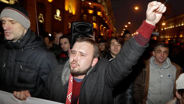 Тунеядцы против Лукашенко