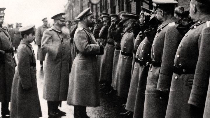 Император Николай II в Ставке и его отъезд в Царское Село