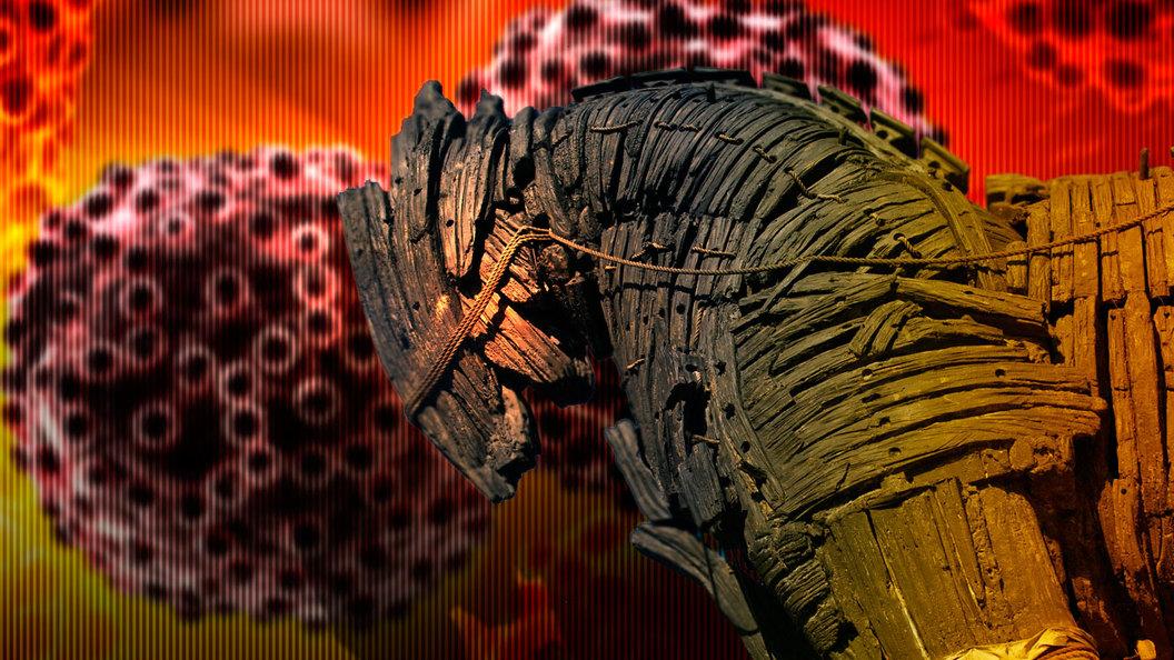 Троянский конь вытопчет раковую клетку
