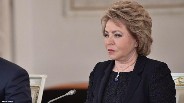 Матвиенко потребовала от организаторов Евровидения объяснить весь абсурд вокруг Самойловой